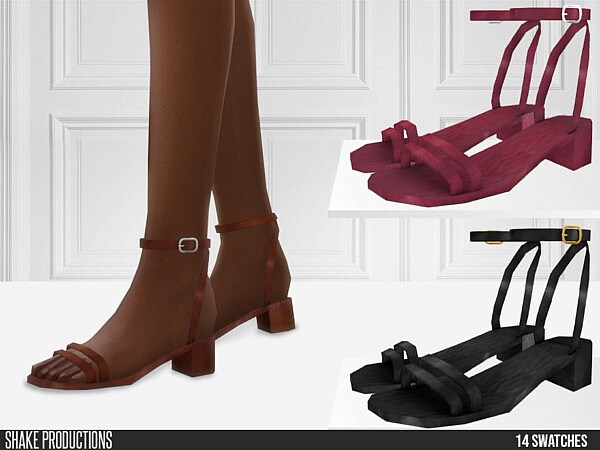 700 Leather Sandals by ShakeProductions from TSR