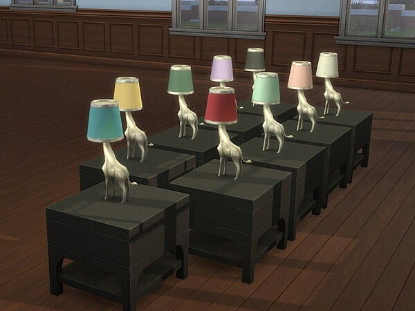 Gentle Geoff Lamps Recolored (For Vintage Glamour) from Mod The Sims