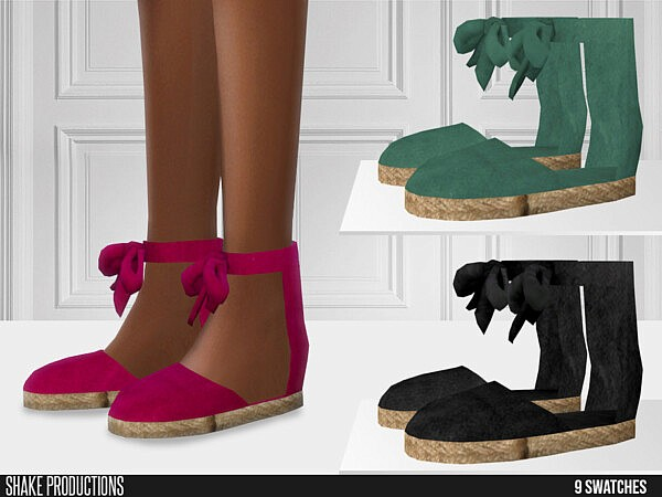 705 Espadrilles by ShakeProductions from TSR