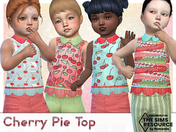 Cherry Pie Top by Pelineldis from TSR