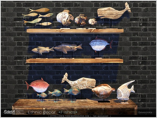Ethnic decor *Fishes* by Severinka from TSR
