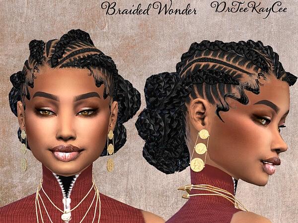 Braided Wonder II Hair by drteekaycee from TSR