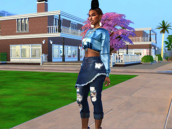 Skirtpants Revamped Base Compatible by drteekaycee from TSR