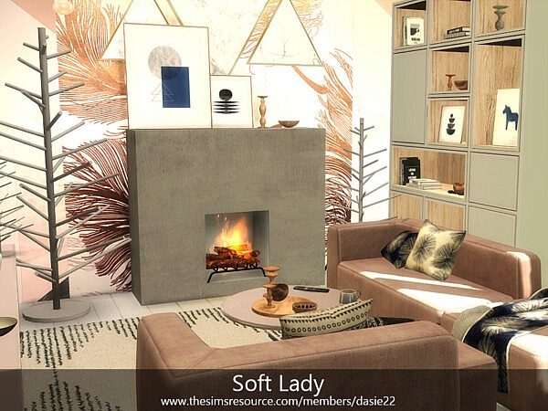 Soft Lady Livingroom by dasie2 from TSR