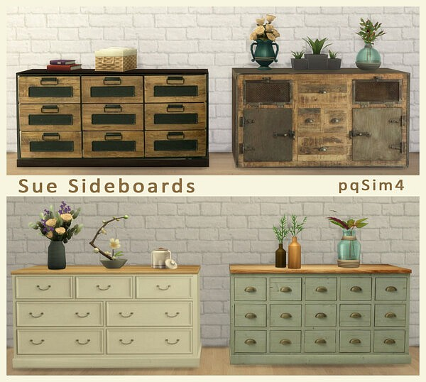 Sue Sideboards from PQSims4