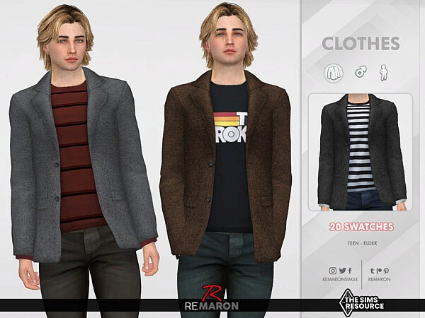 Suits with Shirt 01 by remaron from TSR