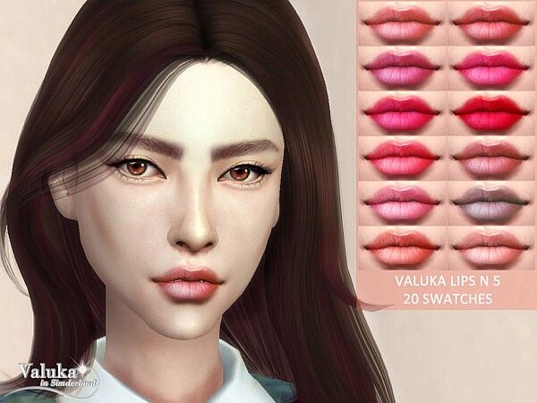Lips N5 by Valuka from TSR