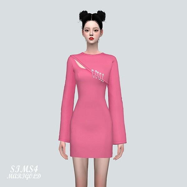 T W 72 Mini Dress from SIMS4 Marigold