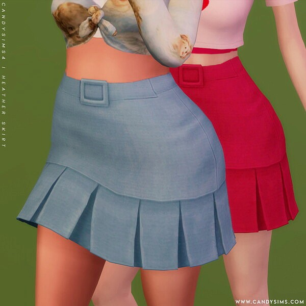 Heather Skirt from Candy Sims 4