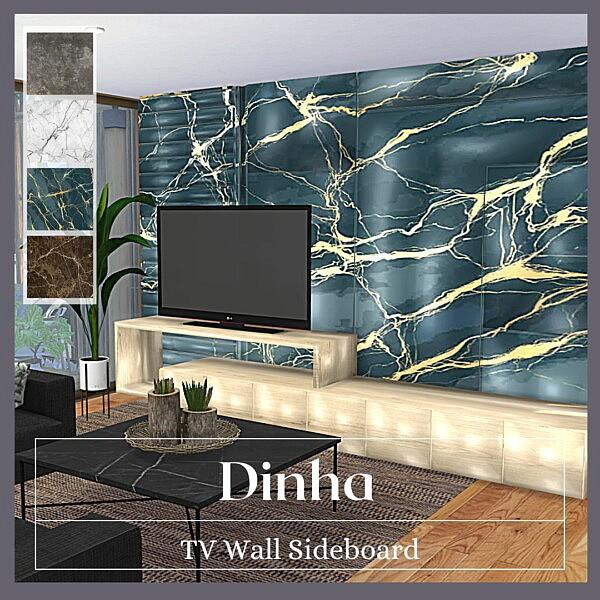 TV Wall Set   Anya from Dinha Gamer