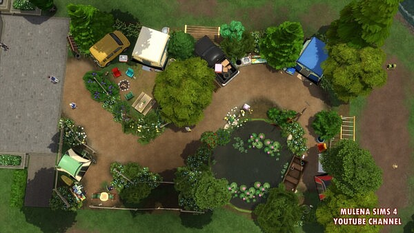 A small park from Sims 3 by Mulena