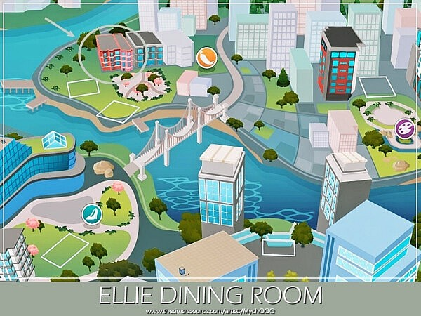 Ellie Dining Room by MychQQQ from TSR