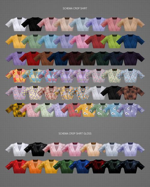 Schema Crop shirt from MMSIMS