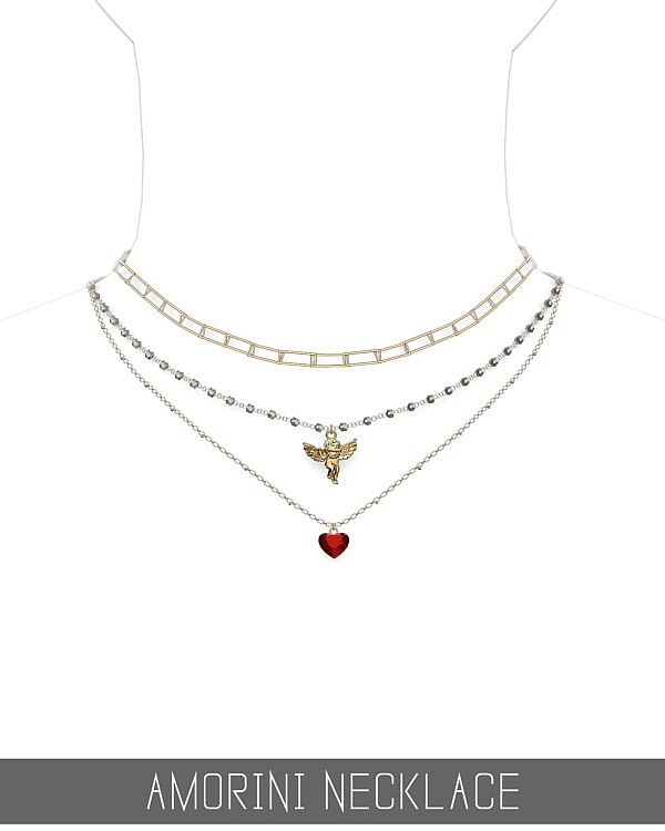 Amorini Necklace from Simpliciaty