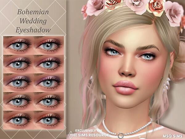 Bohemian Wedding Eyeshadow by MSQSIMS from TSR