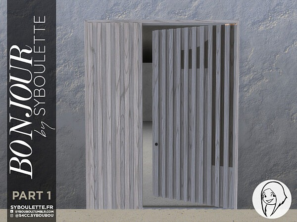 Bonjour Front door set   Part 1 by Syboubou from TSR