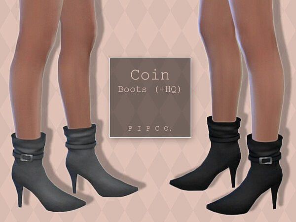 Coin Boots by Pipco from TSR
