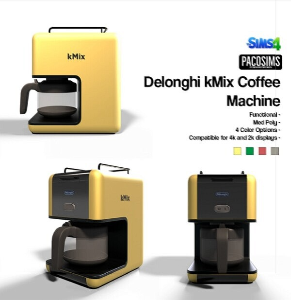 Delonghi kMix Coffee Machine from Paco Sims