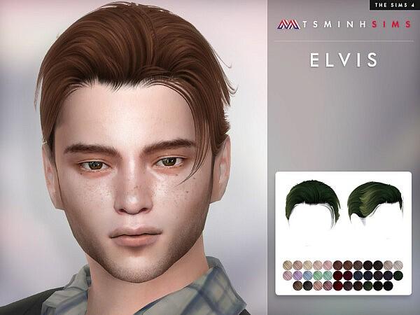 Elvis Hair by TsminhSims from TSR