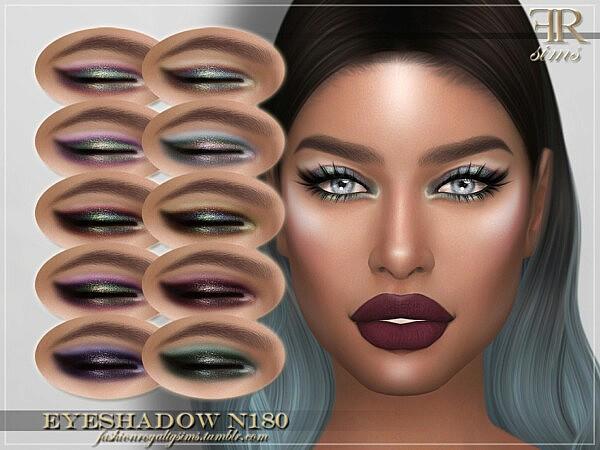 Eyeshadow N180 by FashionRoyaltySims from TSR