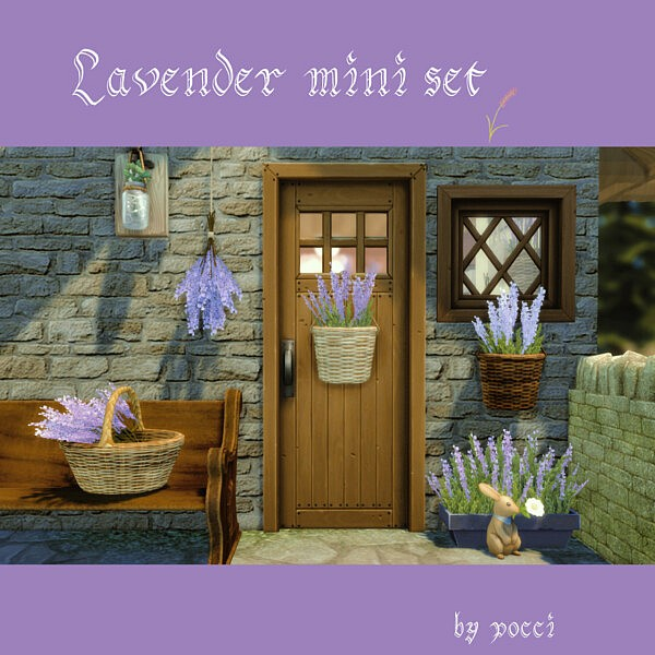 Lavender mini set  by pocci from Garden Breeze
