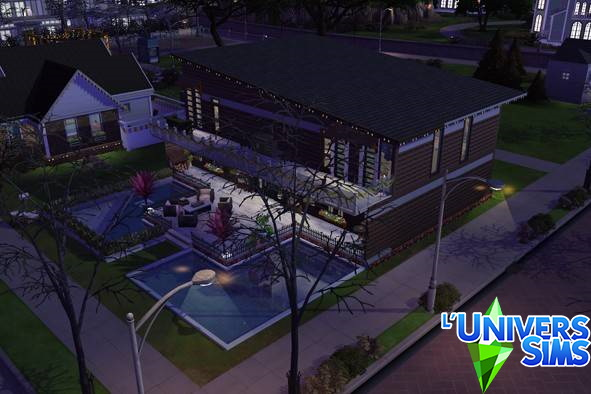 Modern house by  AshleighDurling from Luniversims