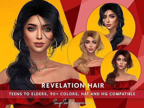 Revelation Hair by SonyaSims from TSR