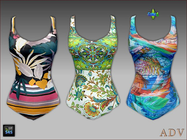 Swimsuits and hats for seniors from Arte Della Vita