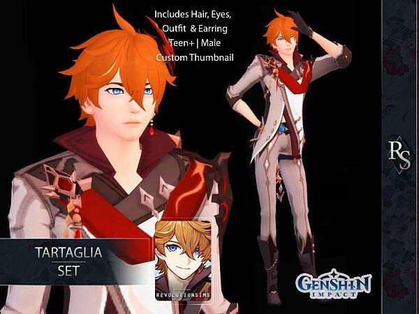 Tartaglia Set from Revolution Sims