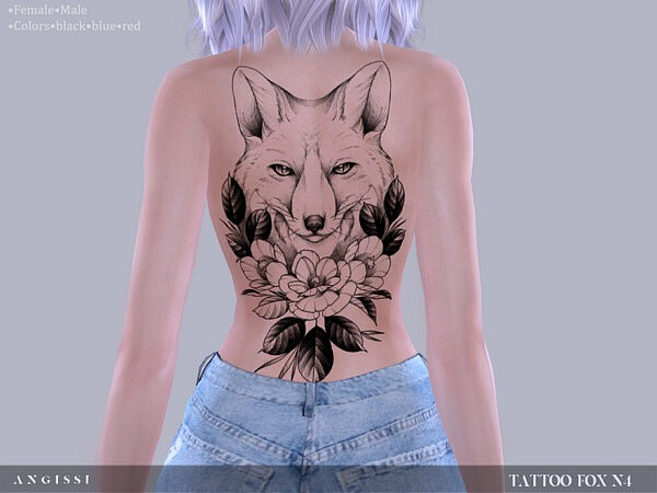 Tattoo Fox n4 by ANGISSI from TSR