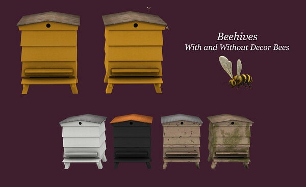Beehives from Leo 4 Sims