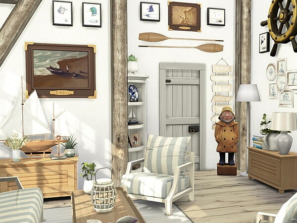 Coastal Living Room by Flubs79 from TSR