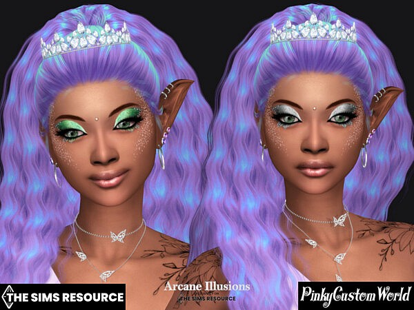 Arcane Illusions   Fairy Eyeshadow by PinkyCustomWorld from TSR