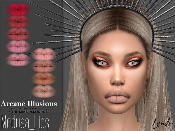 Arcane Illusions   Medusa Lipstick by LVNDRCC from TSR