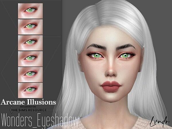 Arcane Illusions   Wonders Eyeshadow by LVNDRCC from TSR