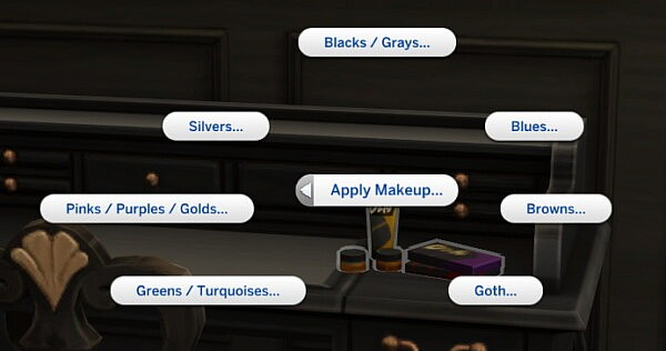 Functional Makeup Trays by Ilex from Mod The Sims