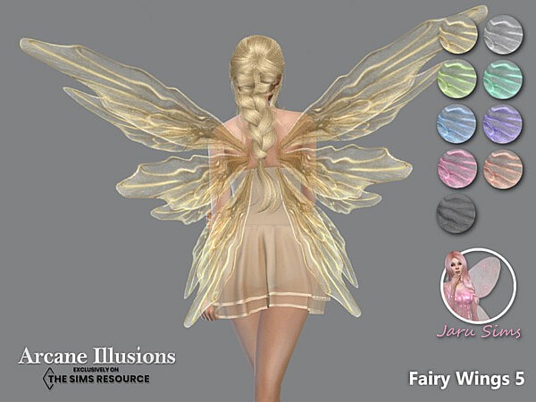 Arcane Illusions   Fairy Wings 5 by Jaru Sims from TSR