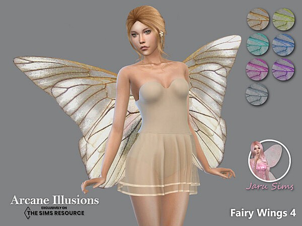 Arcane Illusions   Fairy Wings 4 by Jaru Sims from TSR