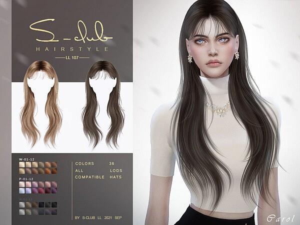 Shawl long hair (Carol) by S Club from TSR