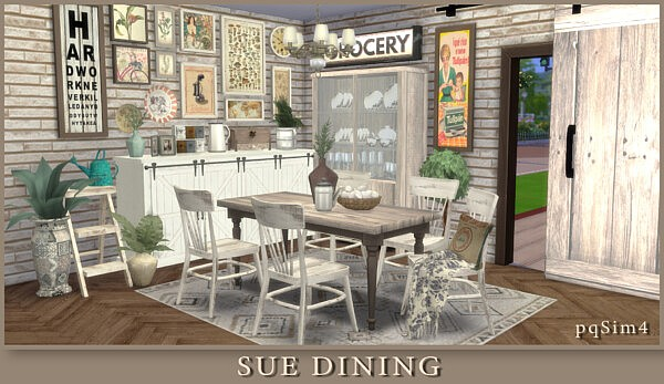 Sue Dining Room from PQSims4