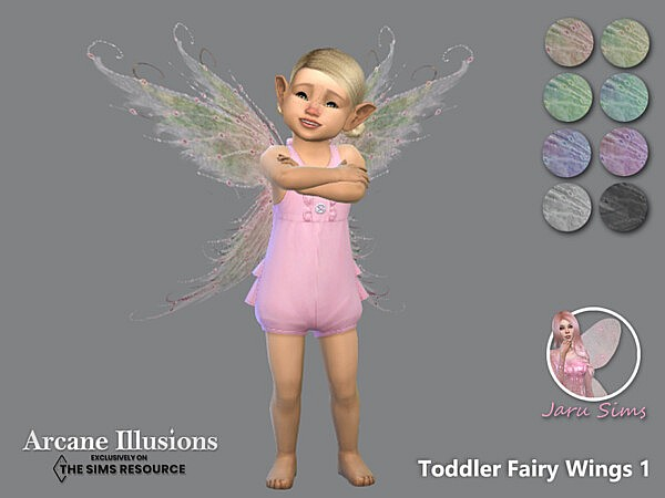 Arcane Illusions   Toddler Fairy Wings 1 by Jaru Sims from TSR