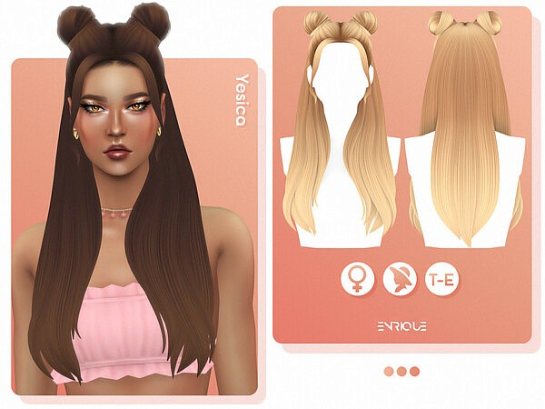 Yesica Hair by Enriques4 from TSR