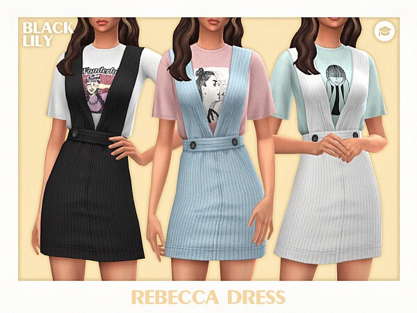 Rebecca Dress by Black Lily from TSR