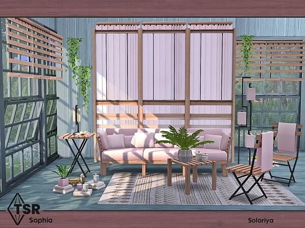 Sophia Livingroom by soloriya from TSR