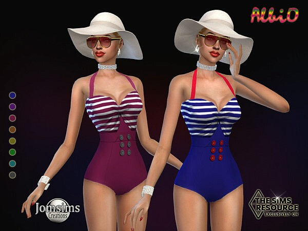 Albio swimsuit by jomsims from TSR