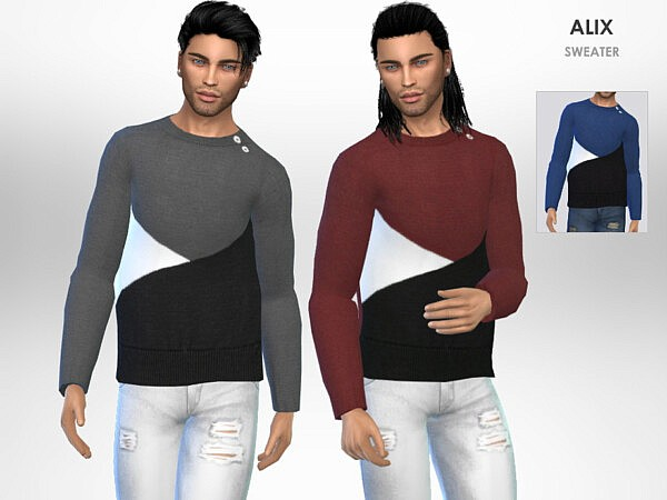 Alix Sweater by Puresim from TSR