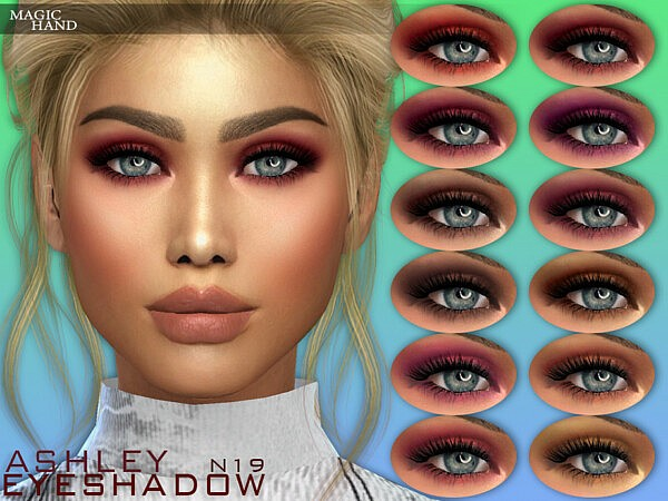 Ashley Eyeshadow N19 by MagicHand from TSR