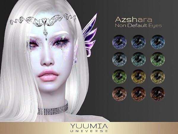 Azshara Non Default Eyes from Yuumia Universe CC