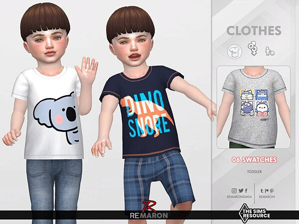 Cartoons Shirt 01 for TB by remaron from TSR