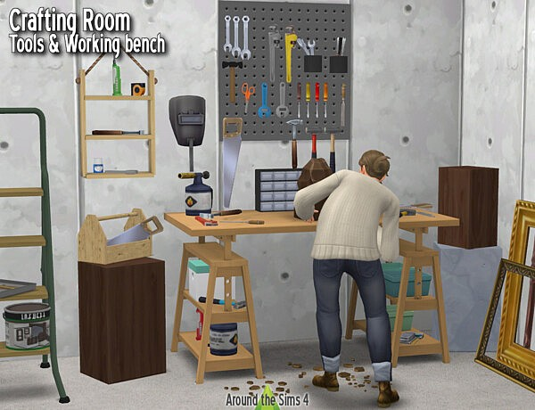 Crafting Room   Tools from Around The Sims 4